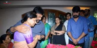 Celebs Pay Homage to Srikath Father PICS
