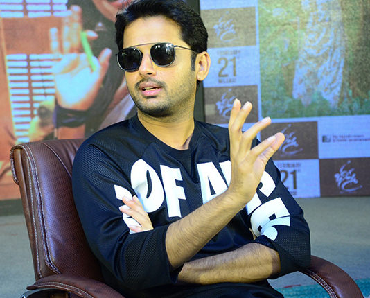 Nithiin Bheeshma Interview pic