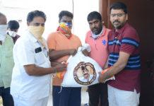 Rajasekhar Charitable Trust donates essentials to poor