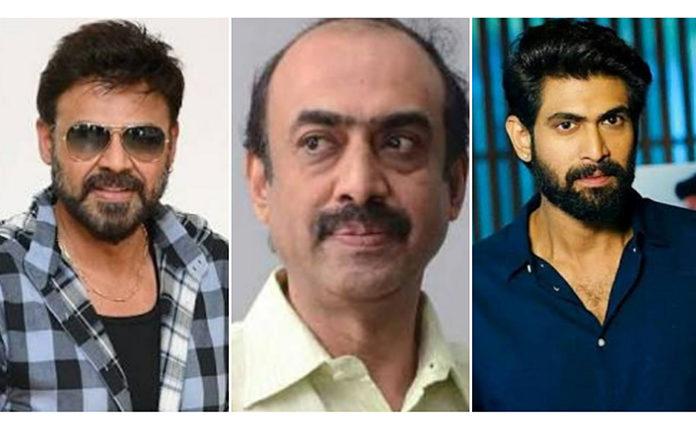 Suresh Babu, Venkatesh, Rana 1 Cr to Cine, Healthcare Workers
