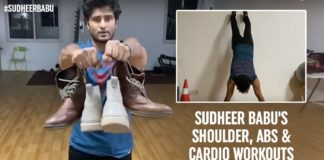 Sudheer Babu's Quarantine Workout Videos