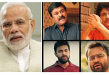 PM Modi Appreciates Tollywood Star Heroes