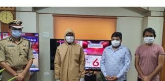 Producer Abhishek Agarwal Donates First High-End PPE Kits