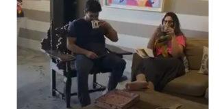 Ram Charan Finishes #BetheREALMAN Challenge