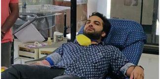 Vishwak Sen Donated Blood