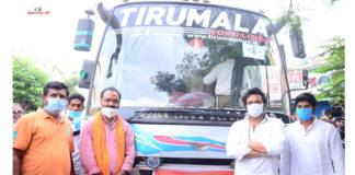 Manchu Manoj arranged 2 busses from Hyderabad to Srikakulam