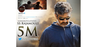 Director S.S Rajamouli joined 5 million club