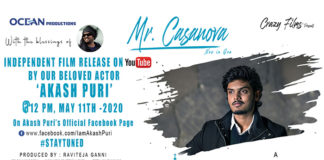 MR. CASANOVA - An Independent film made by Revanth Reddy
