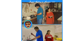 Megastar Chiranjeevi with his wife