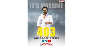 Nithiin Scores A Hatrick On Aditya Movies