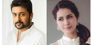 Raashi Khanna To Romance Suriya