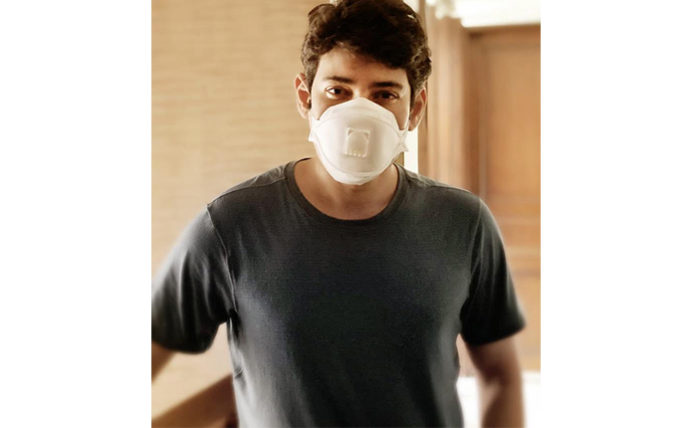 Superstar Mahesh appealing all to wear a mask