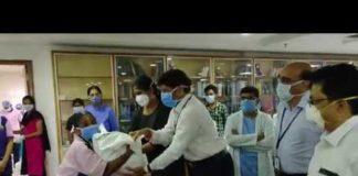 Nandamuri Balakrishna Distributed Commodities At Basavatarakam Indo American Cancer Hospital