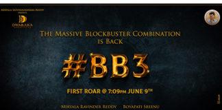 Get Ready For The First Roar Of Balayya Boyapati