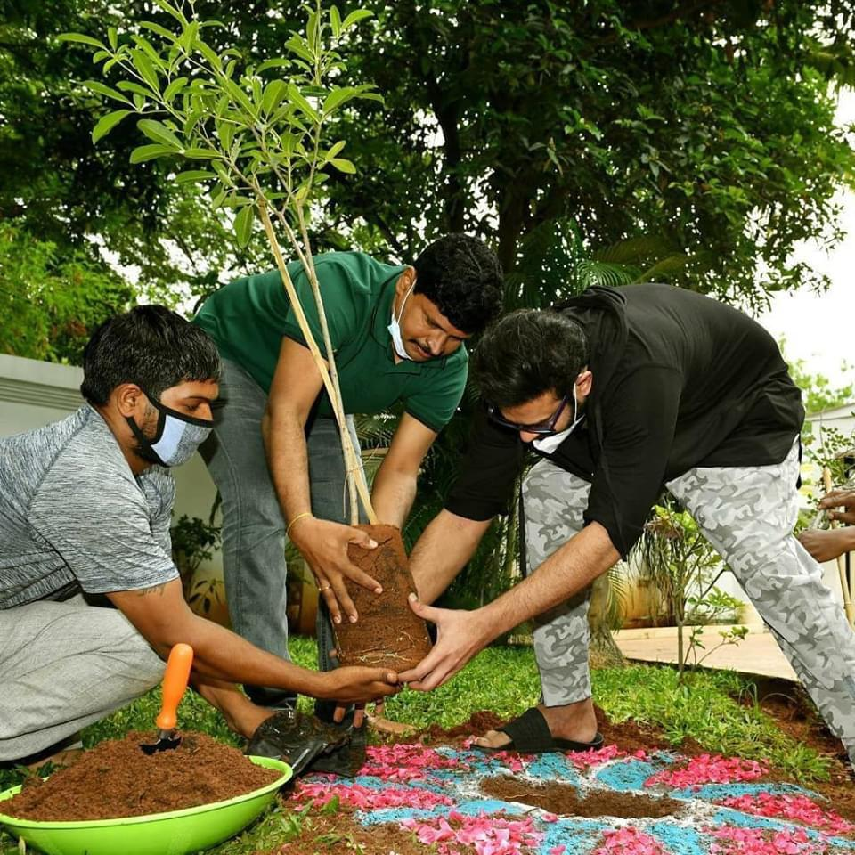 Prabhas Completed Green India Challenge