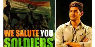 Mahesh Babu Salutes Bravery Of Soldiers