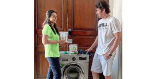Mahesh Babu Shares Laundry With Namrata Shirodkar