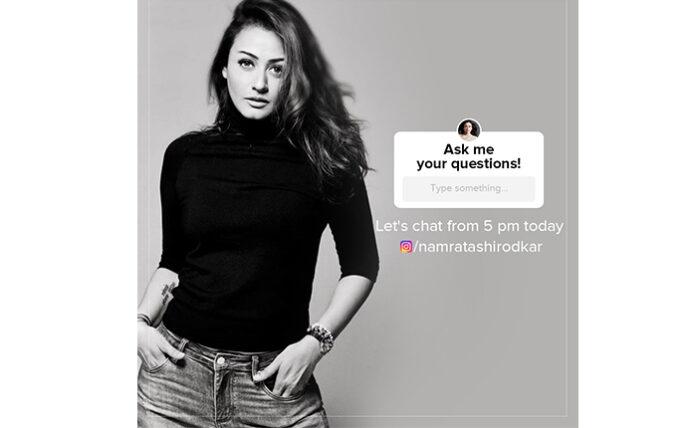 Namrata Shirodkar Q & A Session In Instagram