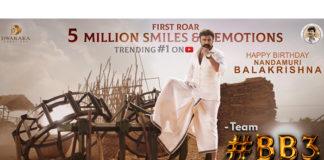 Nandamuri Balakrishna '#BB3 First Roar' teaser