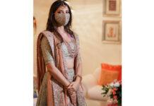 Rana's Fiancée Miheeka Bajaj Bridal Mask