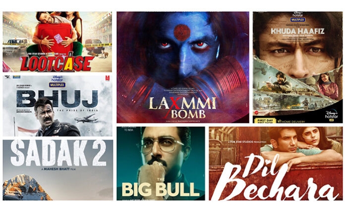 Seven Bollywood Movies Opted For Direct OTT Release