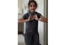 Sitara's Dance Practice In Paris Hotel