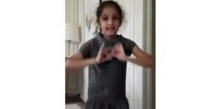 Sitara's Dance Practice In Paris Hotel