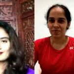 Saina Nehwal and MithaliRaj