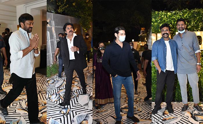 Celebrities At Dil Raju 50th Birthday Party - IndustryHit.Com